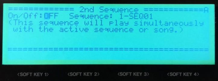 2ND SEQ Button